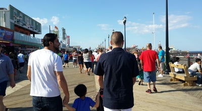 Photo of Theme Park Seaside Heights Boardwalk at Seaside heights, NJ 08854, United States