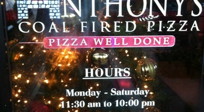 Photo of Pizza Place Anthony's Coal Fired Pizza at 2203 S Federal Hwy, Fort Lauderdale, FL 33316, United States