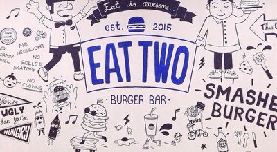 Photo of Burger Joint Eat Two Burger Bar at Jl. Terusan Dieng No. 65 Kav. 7, Malang 65146, Indonesia