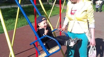 Photo of Playground Детская площадка at Сквер Мациевича, St Petersburg, Russia