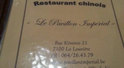 Photo of Chinese Restaurant Le Pavillon Impérial at Rue Kéramis 21, La Louvière 7100, Belgium