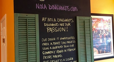 Photo of Donut Shop NOLA Doughnuts at 365 N State St, Lake Oswego, OR 97034, United States