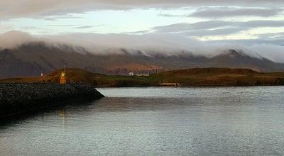 Photo of Island Viðey at Reykjavik, Iceland