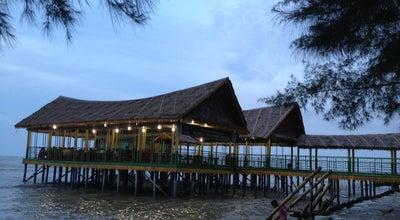 Photo of Beach Pantai Pondok Permai at Desa Kota Pari Pantai Cermin, Lubuk Pakam, Indonesia