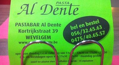 Photo of Italian Restaurant Pasta Al Dente at Kortrijkstraat 39, Wevelgem 8560, Belgium