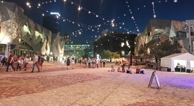 Photo of Plaza Federation Square at Swanston St, Melbourne, VIC, VI 3000, Australia