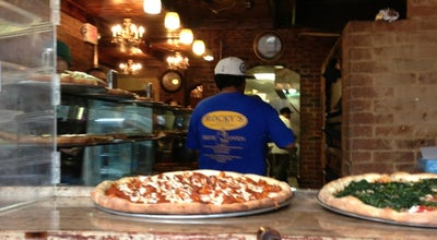 Photo of Pizza Place Rocky's Pizzeria at 607 2nd Ave, New York, NY 10016, United States