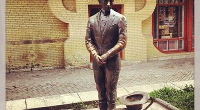 Photo of Outdoor Sculpture Киса Воробьянинов at Pyatigorsk, Russia