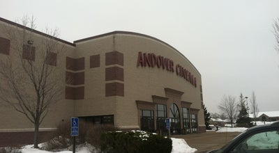 Photo of Movie Theater Andover Cinema at 1836 Bunker Lake Blvd Nw, Andover, MN 55304, United States