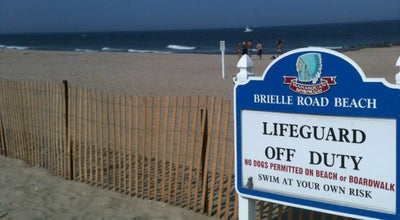 Photo of Beach Brielle Road Beach at 246-302 Beachfront, Manasquan, NJ 08736, United States