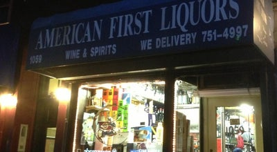 Photo of Other Venue American First Liquors at 1059 1st Ave, New York, NY 10022, United States