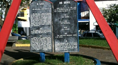Photo of Historic Site Praça dos DEZ MANDAMENTOS at Brazil