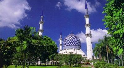 Photo of Mosque Masjid Sultan Salahuddin Abdul Aziz Shah at Persiaran Masjid, Seksyen 14, Shah Alam 40000, Malaysia