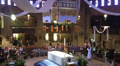 Photo of Church National Shrine of the Little Flower at 2100 W 12 Mile Rd, Royal Oak, MI 48073, United States