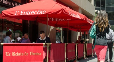 Photo of French Restaurant Le Relais de Venise L'Entrecote at 590 Lexington Ave, New York, NY 10154, United States