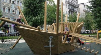Photo of Playground Корабль на Тверском Бульваре at Тверской Бул., Москва, Russia