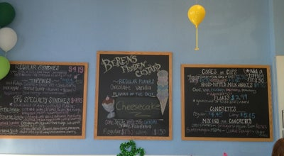 Photo of Dessert Shop Berens Frozen Custard at 1132 Athens Hwy, Grayson, GA 30017, United States