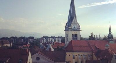 Photo of Church Cerkev sv. Jakoba at Gornji Trg, Ljubljana, Slovenia