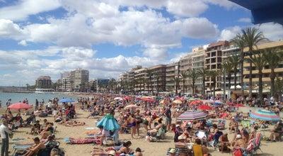 Photo of Beach Playa del Cura at Av De Los Marineros, Torrevieja 03182, Spain