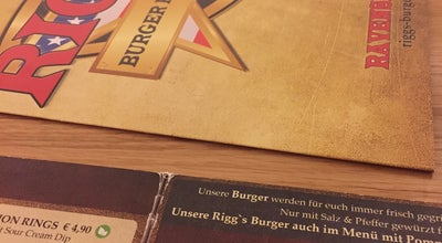 Photo of American Restaurant Rigg's Burger Restaurant at Gottlieb Daimler Str. 2, Ravensburg, Germany