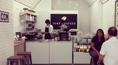 Photo of Coffee Shop Toby's Estate Coffee Roasters at Shop 312, Century City Mall, Makati City 1210, Philippines