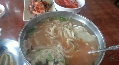 Photo of Ramen / Noodle House 옛진미칼국수 at 오리로 932, 경기도, South Korea