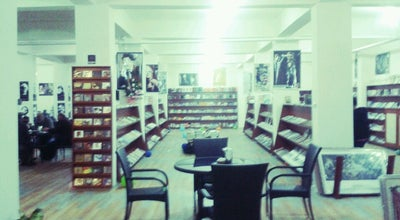 Photo of Bookstore Minerva Kitap Cafe at Turkey