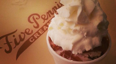 Photo of Ice Cream Shop Five Pennies Creamery at 11 N Park Ave, Rockville Centre, NY 11570, United States
