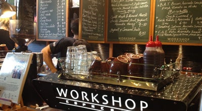 Photo of Coffee Shop Workshop Espresso at The Galeries Victoria, Sydney, NS 2000, Australia