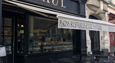Photo of Bakery Paul at 20 Place Myrron Herrick, Reims 51100, France
