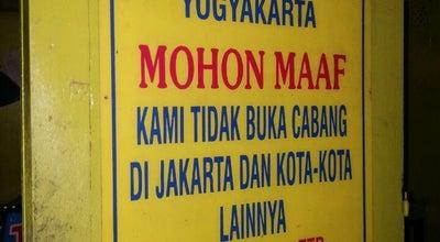 "Photo of Asian Restaurant Warung Bakmi ""Mbah Mo"" at Manding, Bantul, Indonesia"
