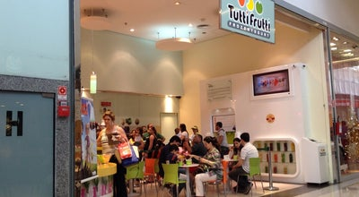 Photo of Ice Cream Shop Tutti Frutti Frozen Yogurt at Shoppping Tamboré, Barueri 06460-030, Brazil