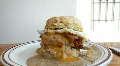 Photo of Fried Chicken Joint Pine State Biscuits at 125 Ne Schuyler St, Portland, OR 97212, United States