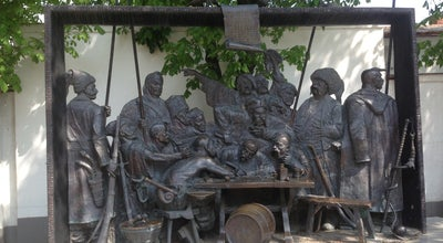 Photo of Outdoor Sculpture Казаки пишут письмо турецкому султану at Ул. Красная, Краснодар, Russia
