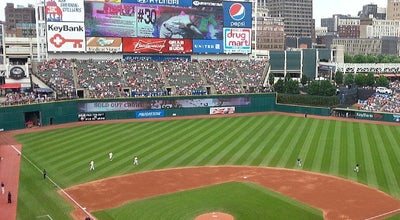Photo of Baseball Stadium Progressive Field at 2401 Ontario St, Cleveland, OH 44115, United States