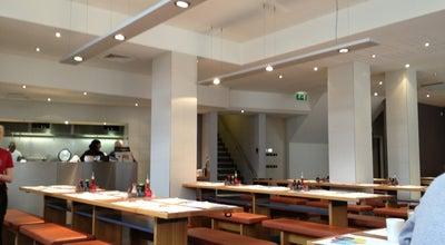 Photo of Asian Restaurant Wagamama at 2 Leopold Sq, Sheffield S1 2JG, United Kingdom
