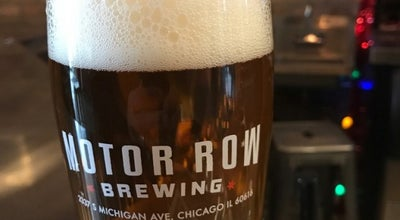 Photo of Brewery Motor Row Brewing at 2337 S Michigan Ave, Chicago, IL 60616, United States