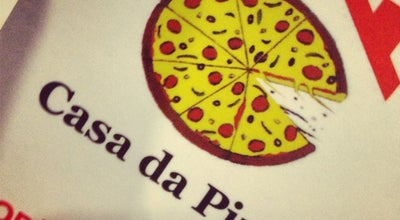 Photo of Pizza Place Casa da Pizza at Av. Atlântica, 3999, São Paulo 04772-004, Brazil