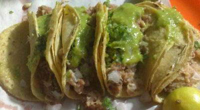 "Photo of Taco Place Tacos Del ""Sombre"" at 2 Sur, Tehuacán, Mexico"