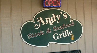 Photo of Steakhouse Andys Steak and Seafood Grille at 413 S Washington St, Fredericksburg, TX 78624, United States