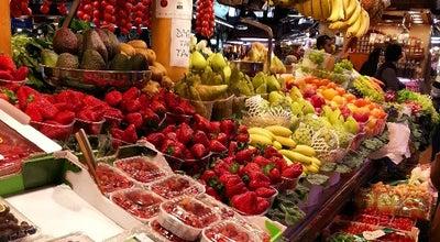 Photo of Farmers Market Mercat de Sant Josep - La Boqueria at La Rambla, 91, Barcelona 08002, Spain
