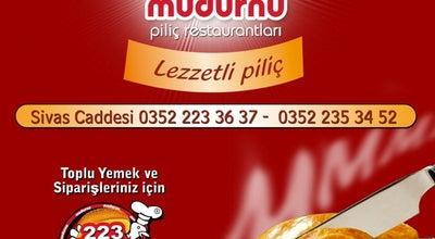 Photo of Fried Chicken Joint Mudurnu Piliç Restaurant at Kılıçaslan Mh. Sivas Blv. No:109/b, KAYSERİ 38020, Turkey
