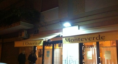 Photo of Mediterranean Restaurant L'Osteria di Monteverde at Via Pietro Cartoni, 163/165, Rome 00152, Italy