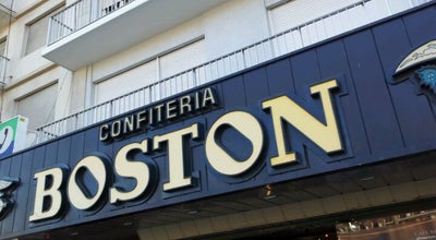 Photo of Cafe Boston at Buenos Aires 1927, Mar del Plata, Buenos Aires B7600EEE, Argentina