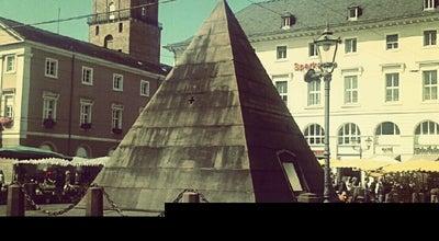 Photo of Monument / Landmark Pyramide at Marktplatz, Karlsruhe 76133, Germany