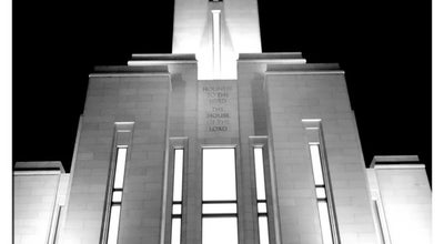 Photo of Temple Oquirrh Mountain Utah Temple at 11022 S 4000 W, South Jordan, UT 84009, United States