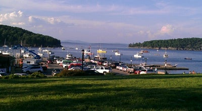 Photo of Harbor / Marina Bar Harbor Water Front at Bar Harbor, ME, United States