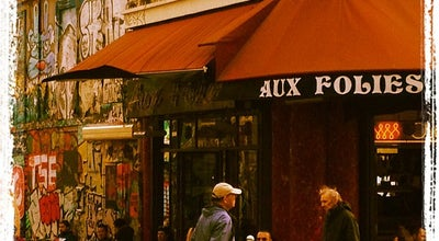 Photo of Cafe Aux Folies at 8 Rue De Belleville, Paris 75020, France