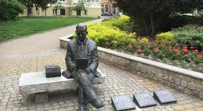 Photo of Historic Site Marian Rejewski Statue at Gdańska, Bydgoszcz, Poland
