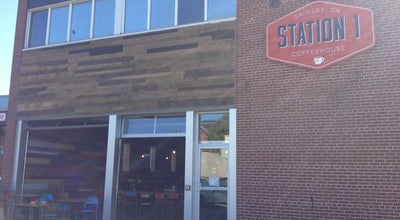 Photo of Coffee Shop Station 1 Coffeehouse at 28 Main St. East, Grimsby, Canada